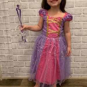 Princess Rapunzel Sofia Dress